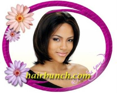 Milky Way Human Hair Lace Front Wig Bibi 9