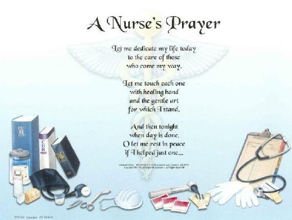Nurse Prayer Poem