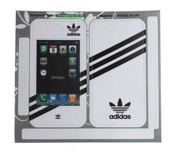 Full Body Sticker Guard Skin Case Cover For Apple iPhone 4G