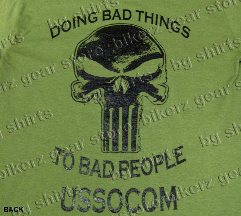 SOCOM Navy Seals Delta Force Spec Op T shirt S XL GREEN