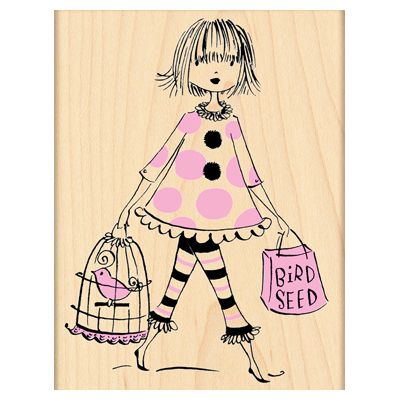 PENNY BLACK RUBBER STAMPS SHOP AND TWEET STAMP NEW 2012